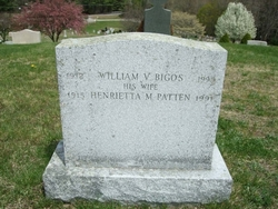 Henrietta M <i>Patten</i> Bigos