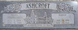 Agnes Tedora <i>Christoffersen</i> Ashcroft