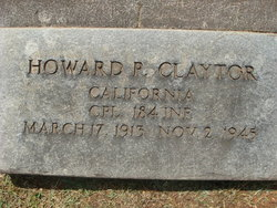 Howard Patrick Claytor