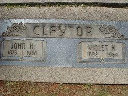 Violet Hazel <i>Clapp</i> Claytor