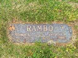 Caroline B Rambo