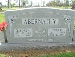 Clarence A Abernathy