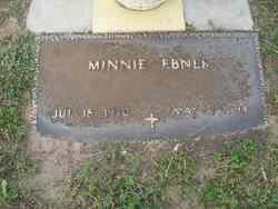 Minnie Ebner