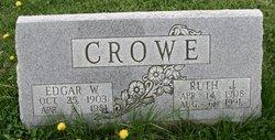 Edgar W Crowe
