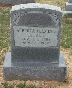 Mary E Alberta <i>Shipley</i> Fleming Bitzel