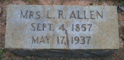 Mrs Laura Rebecca <i>Gillespy</i> Allen