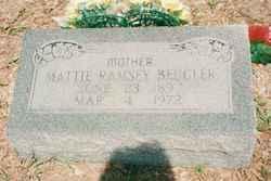 Mattie Lula Ellen <i>Cartwright</i> Beugler