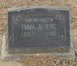 Emma Albers