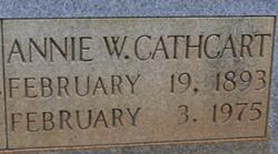 Annie <i>Woodward</i> Cathcart