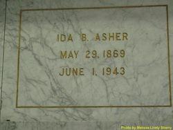Ida Bell <i>Levene</i> Asher