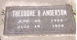 Theodore Benjamin Anderson