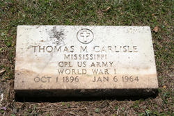 Thomas Monroe Carlisle, Sr
