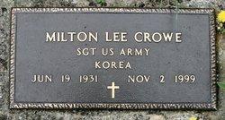 Milton Lee Crowe