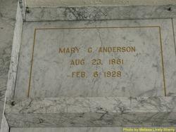 Mary C. <i>McDermid</i> Anderson