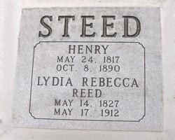 Lydia Rebecca <i>Reed</i> Steed