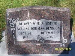 Avaline <i>Bohman</i> Bennion