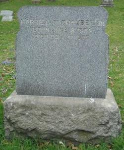 Harriet S. Hattie <i>Chamberlin</i> Chamberlin