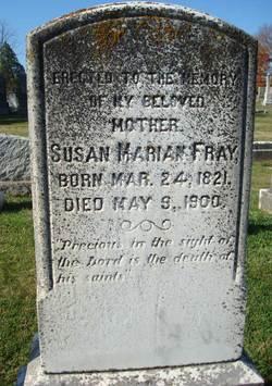 Susan Marian <i>Wayland</i> Fray