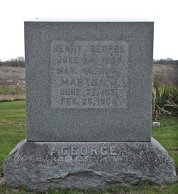 Martha J. Mollie <i>Balsley</i> George