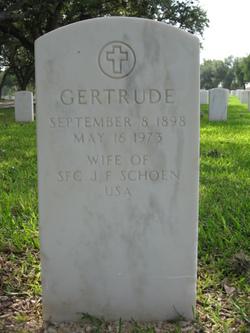 Gertrude Schoen