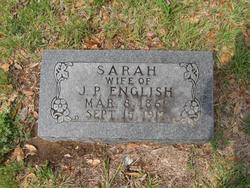 Sarah <i>Peters</i> English