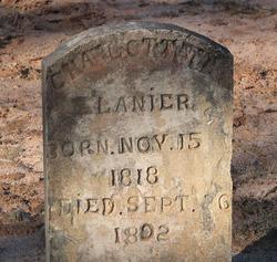 Charlotte T. <i>Jackson</i> Lanier
