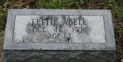 Lettie Abell