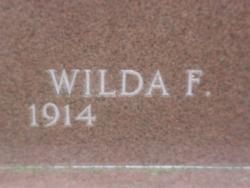 Wilda F Achenbach