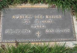 Robert Lee Bailey