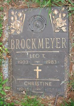 Christine <i>Halter</i> Brockmeyer