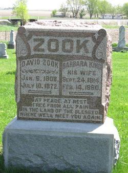 Barbara <i>King</i> Zook