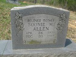 Mrs Soonie Marie <i>Baker</i> Allen