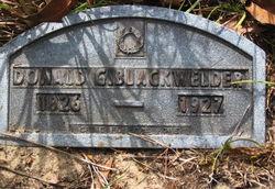 Donald G. Blackwelder