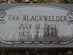 Eva <i>Simms</i> Blackwelder