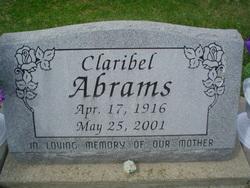 Claribel <i>Wyrick</i> Abrams