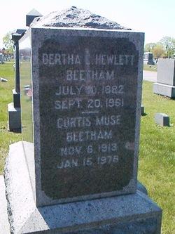 Bertha L <i>Hewlett</i> Beetham