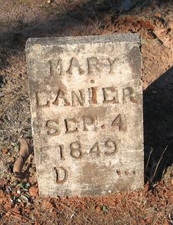 Mary E Lanier