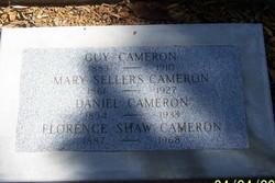 Mary <i>Sellers</i> Cameron