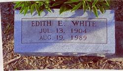 Edith E. <i>Caldwell</i> White