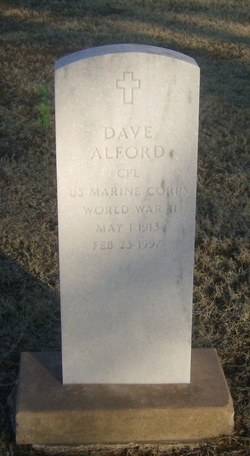Corp Dave Alford