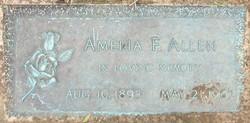 Amelia Florence <i>Tyllich</i> Allen