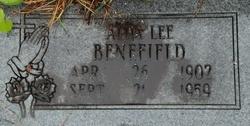 Alda Lee <i>Eunice</i> Benefield