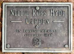 Nellie Ross Hyde Memorial Gardens