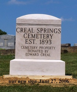 Creal Springs Cemetery