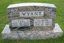 Iva V Ivy <i>Lundy</i> Wyant