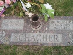 Rudolph A. Rudy Schacher