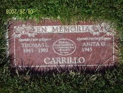 Anita G Carillo