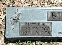 Mattie S. Birdsong