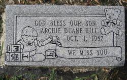 Archie Duane Hill