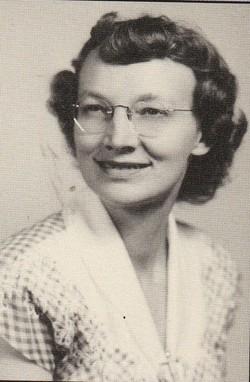 Mildred Effie Aunt Millie Lovegren